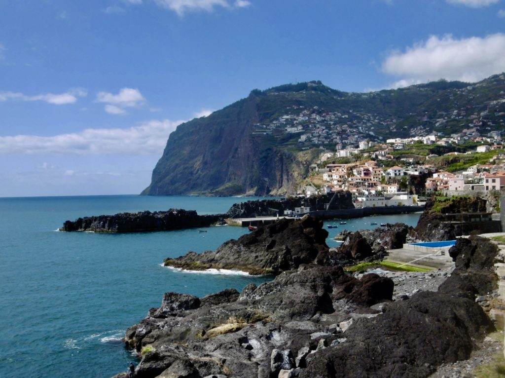 Camara de Lobos has a really beautiful setting.