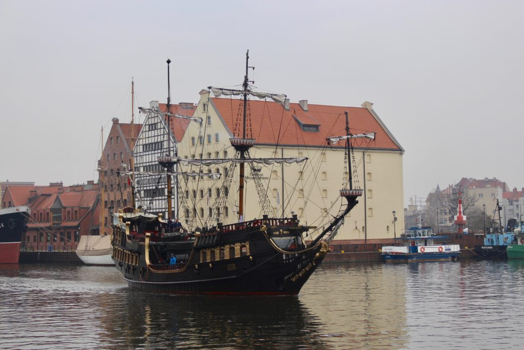Gdansk is a maritime city.