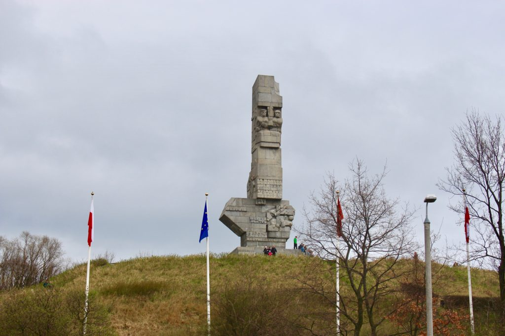 Memorial at Westerplatte.