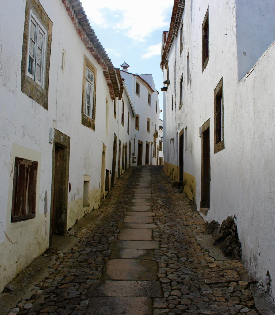 The streets of Marvao.