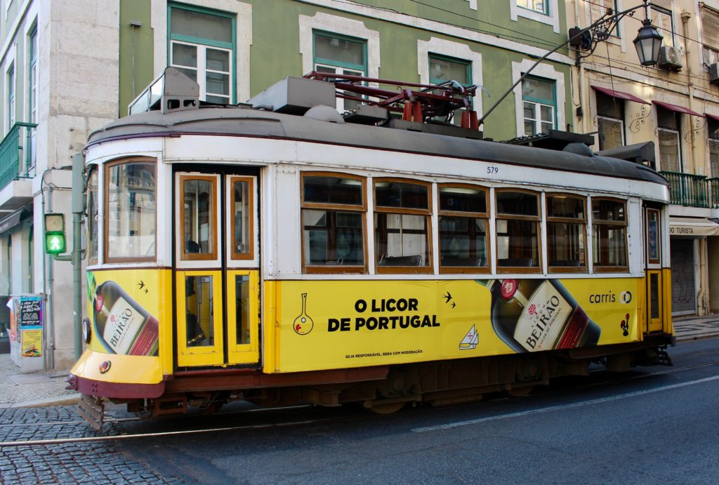 I love the Lisbon trams.