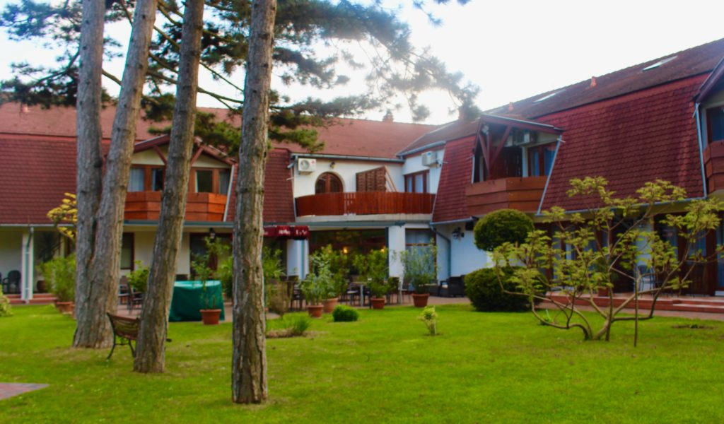 Hotel Kentaur at Lake Balaton.