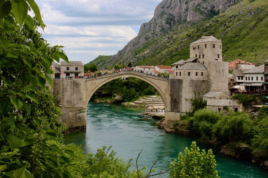 Mostar is beautiful.