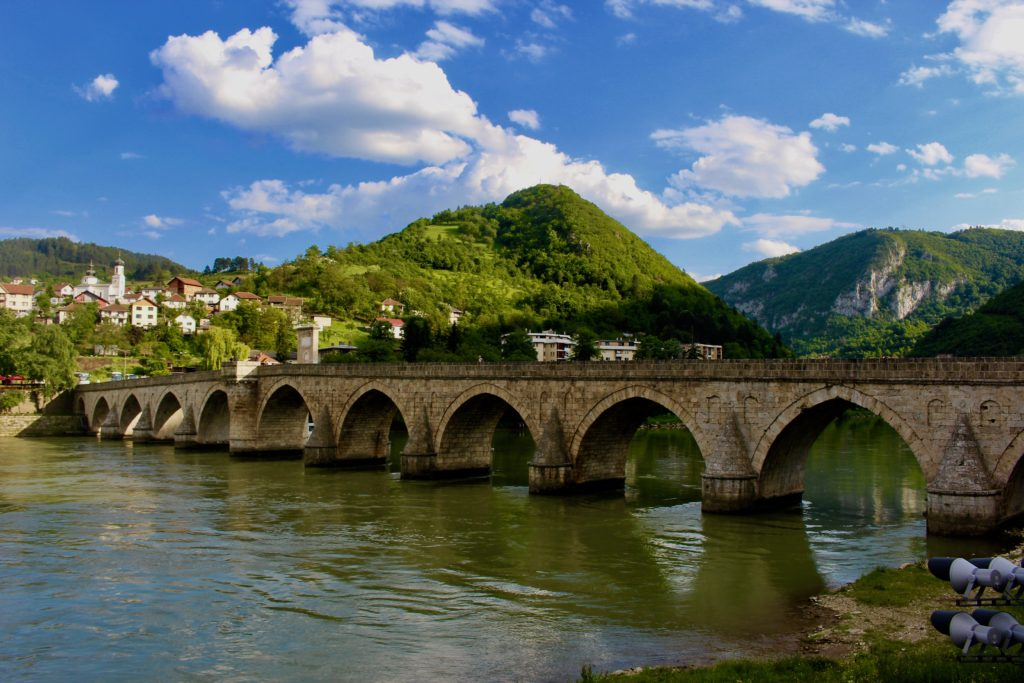 The bridge over Drina.