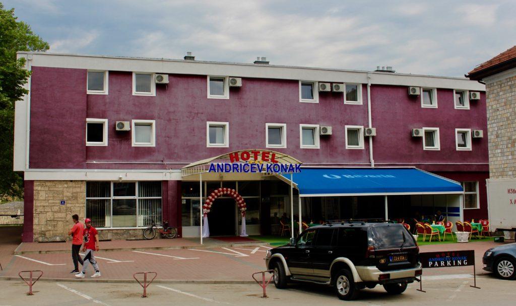 Hotel Andricev Konak in Visegrad.