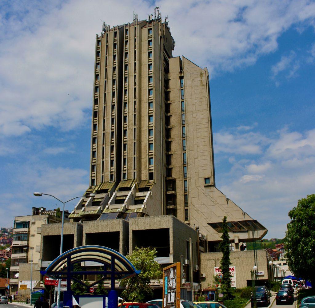 Hotel Zlatibor in Uzice.
