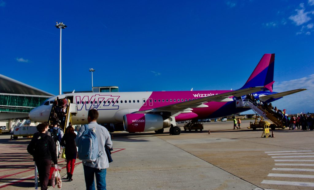 Flying Wizzair.