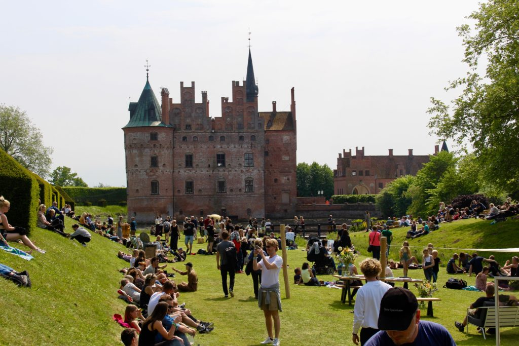Heartland Festival at Egeskov Castle.