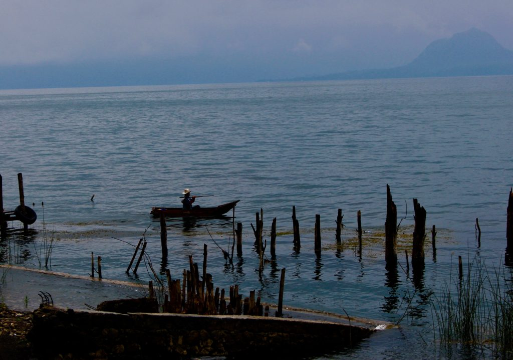 Local life at Lake Atitlan.