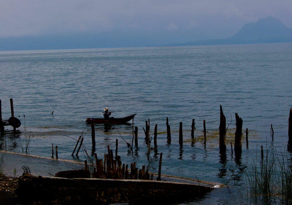 Local life at Lake Atitlan.
