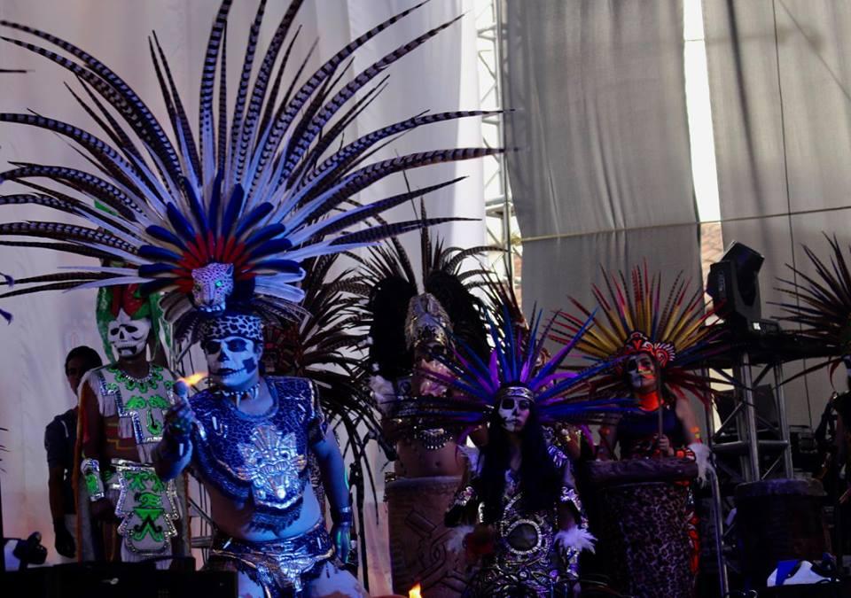 Aztec danicng in Chignahuapan.