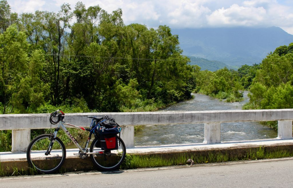 Cycling in Chiapas.