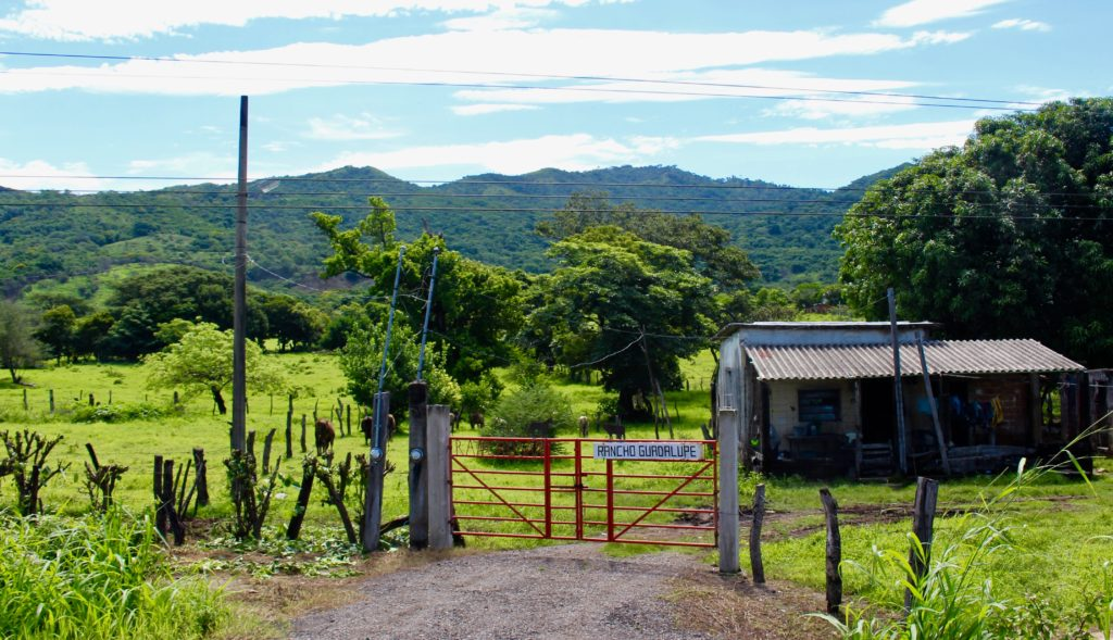 Small farm in Chiapas.