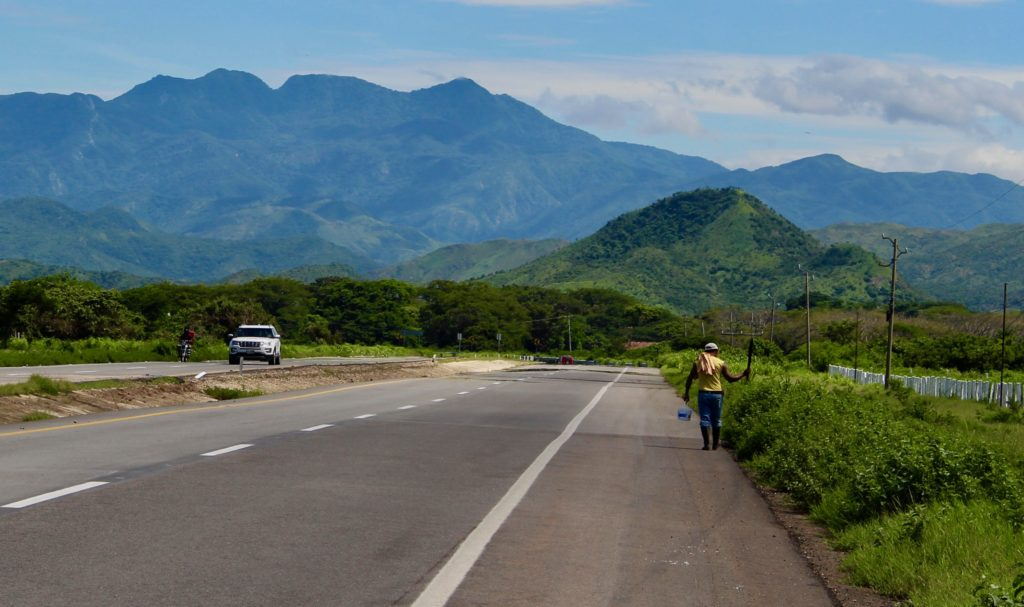 Nice roads for cycling in coastal Chiapas.