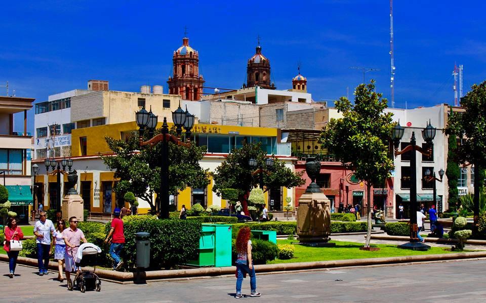 Visiting San Luis Potosi.