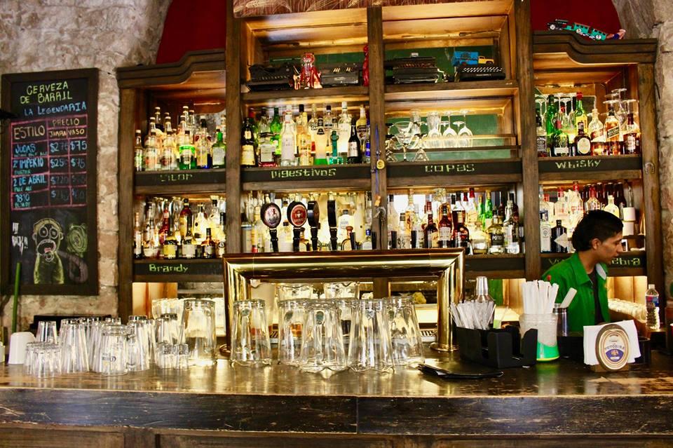 La Oruga e La Cebada bar in San LuisPotosi.