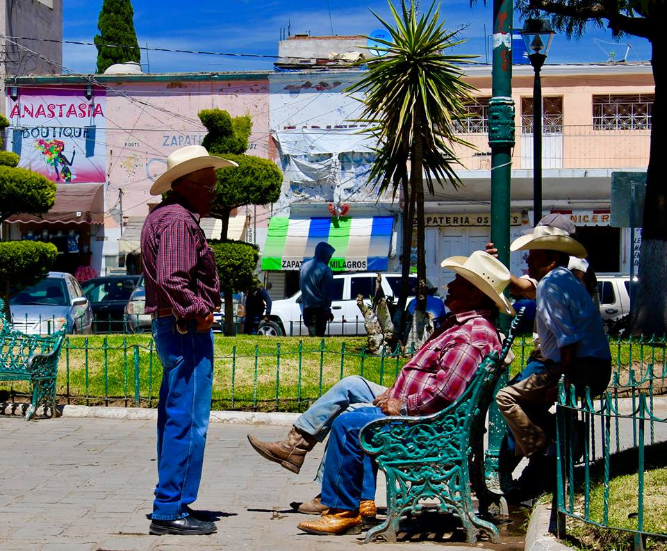 Rural Mexico is calm and relaxed.
