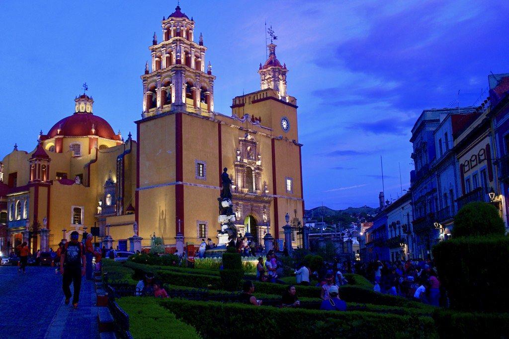 Guanajuato by night.