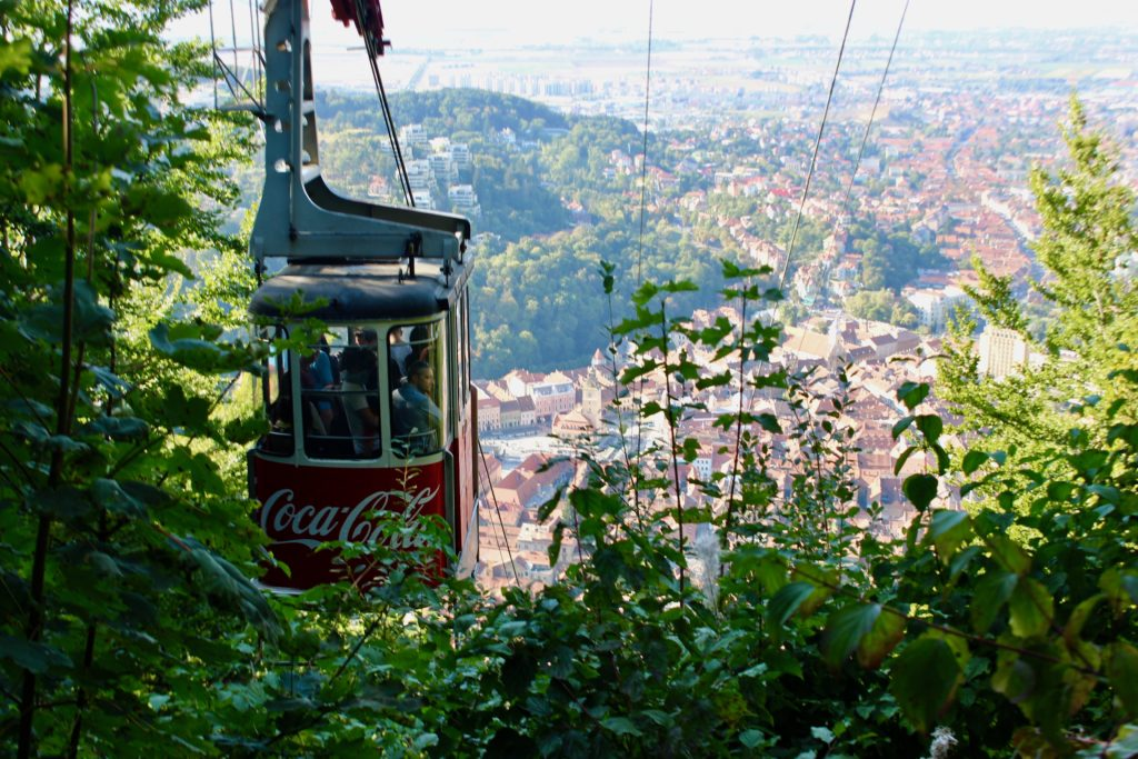 There is a cable car too, if you don't like to walk up the mountain.