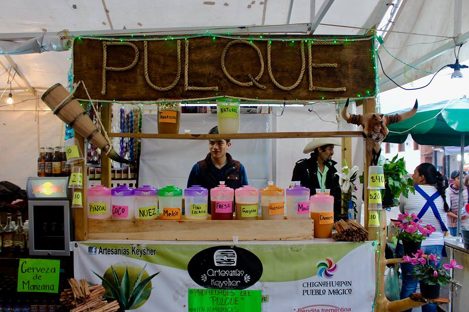 A pulque bar.