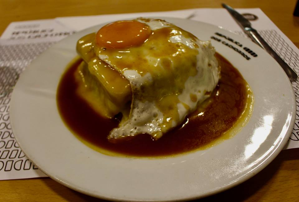 Francesinha is unhealthy food at it's very best  Worth a trip to