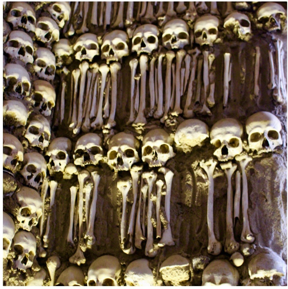 The bone chapel in Evora.