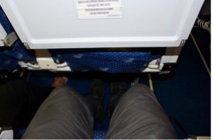 Legspace is ok when you fly the Boeing 767 with EuroAtlantic Airways.