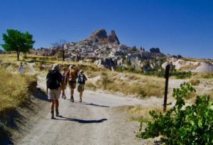 Hiking in Cappadocia is fantastic.