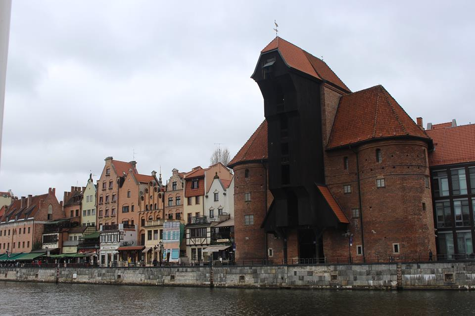 I visited Gdansk in april.