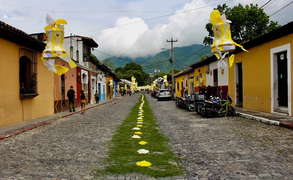 I spend some time in Antigua, Guatemala in June.