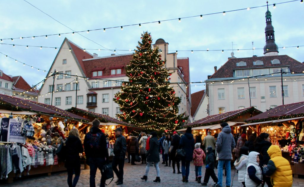 December trip to Tallinn.