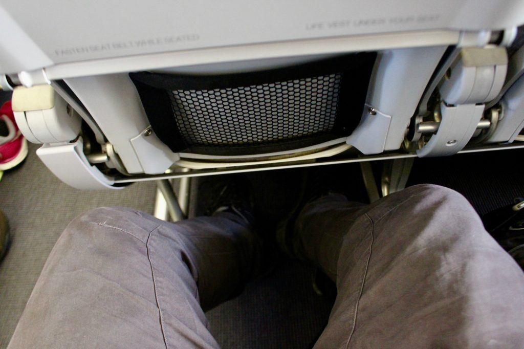 OK legroom with Finnair. Even on a short flight.