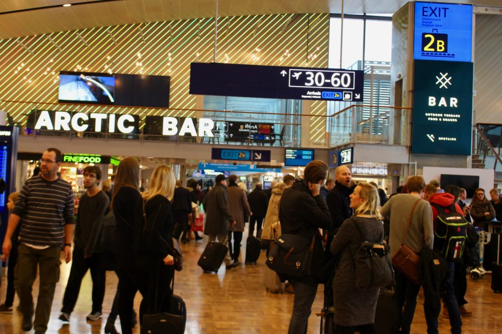 I like Helsinki Airport.