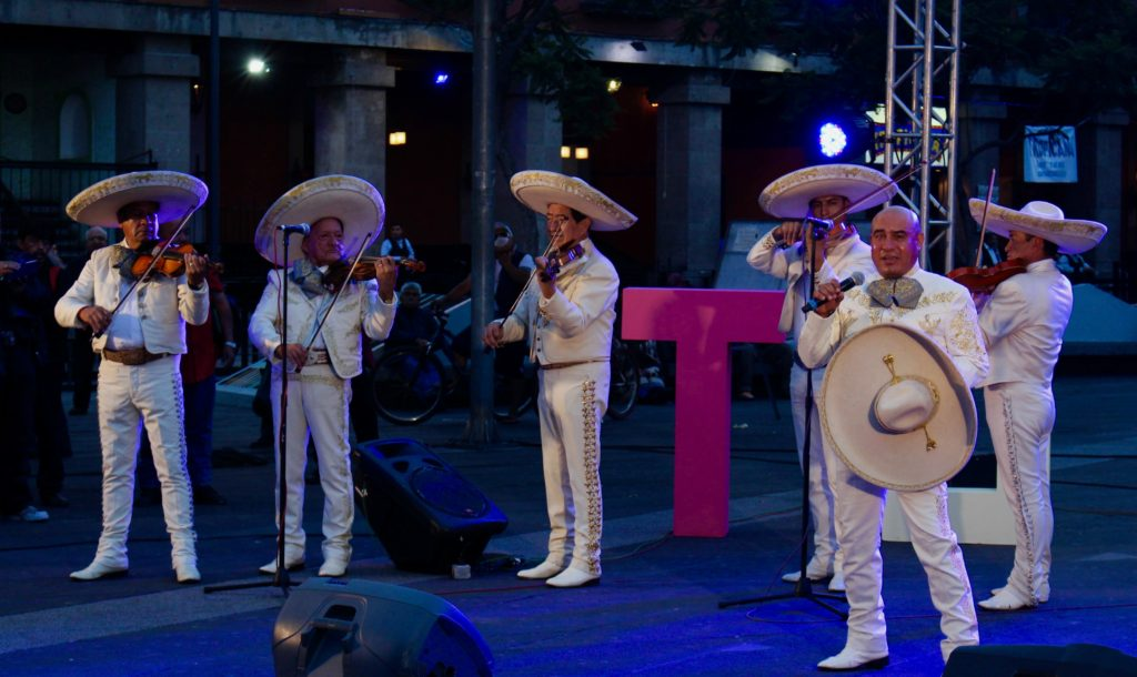 Mariachi concert on Plaza Garibaldi.