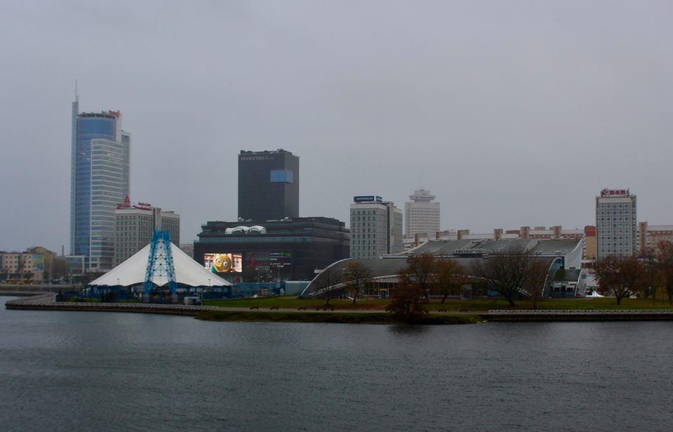 Visiting Minsk.
