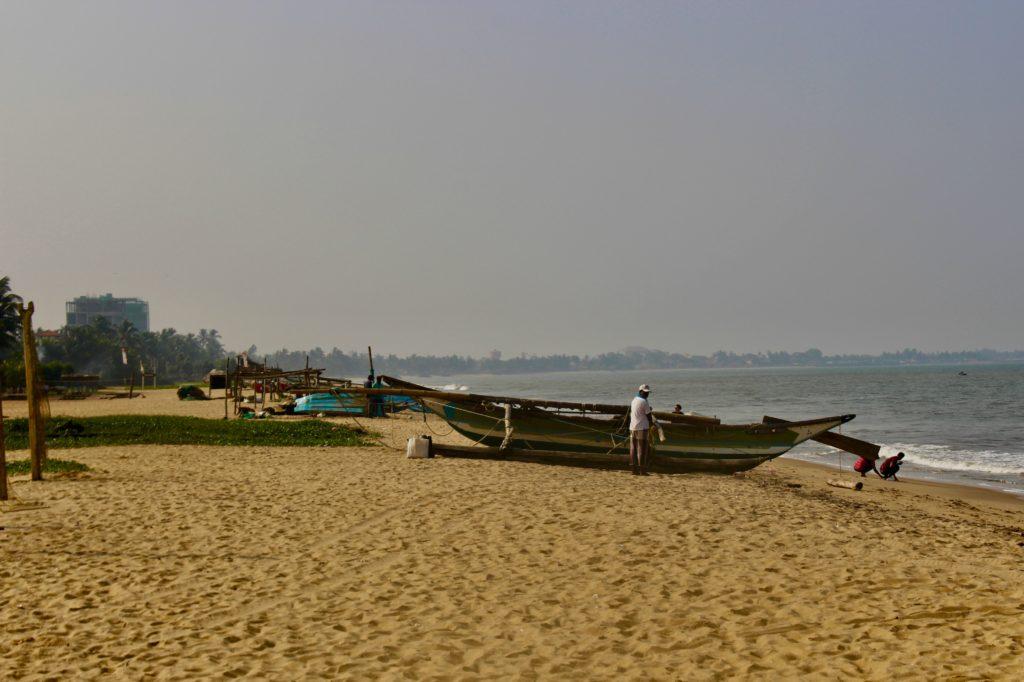 The beach at Negombo.