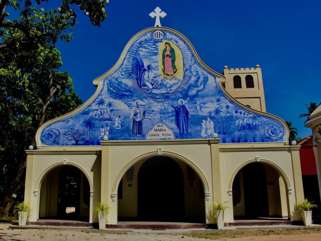 The Francisco Xavier church in Negombo.