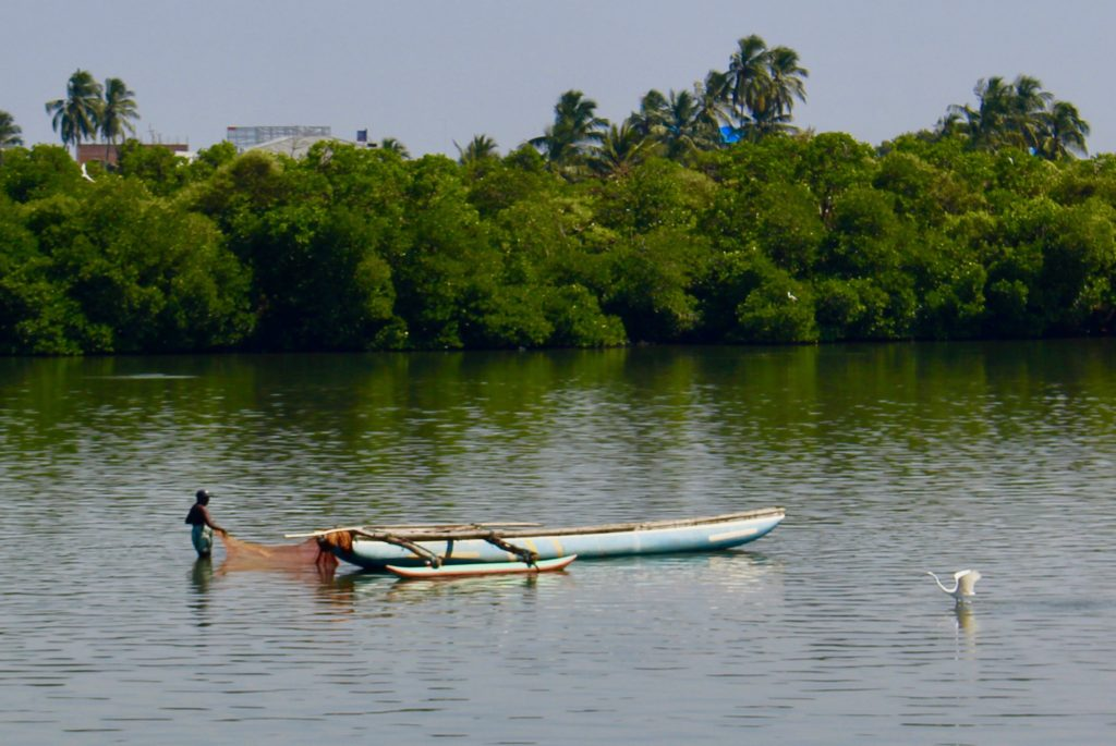 Sri Lankan fisherman.