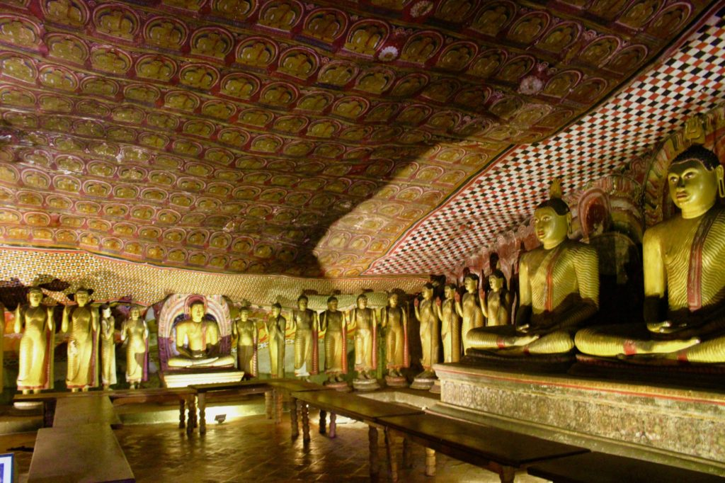 No selfies at the Dambulla cave temple please.