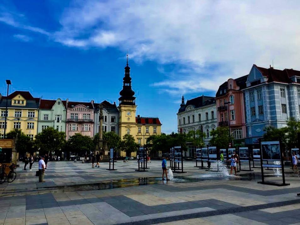 Ostrava city center.