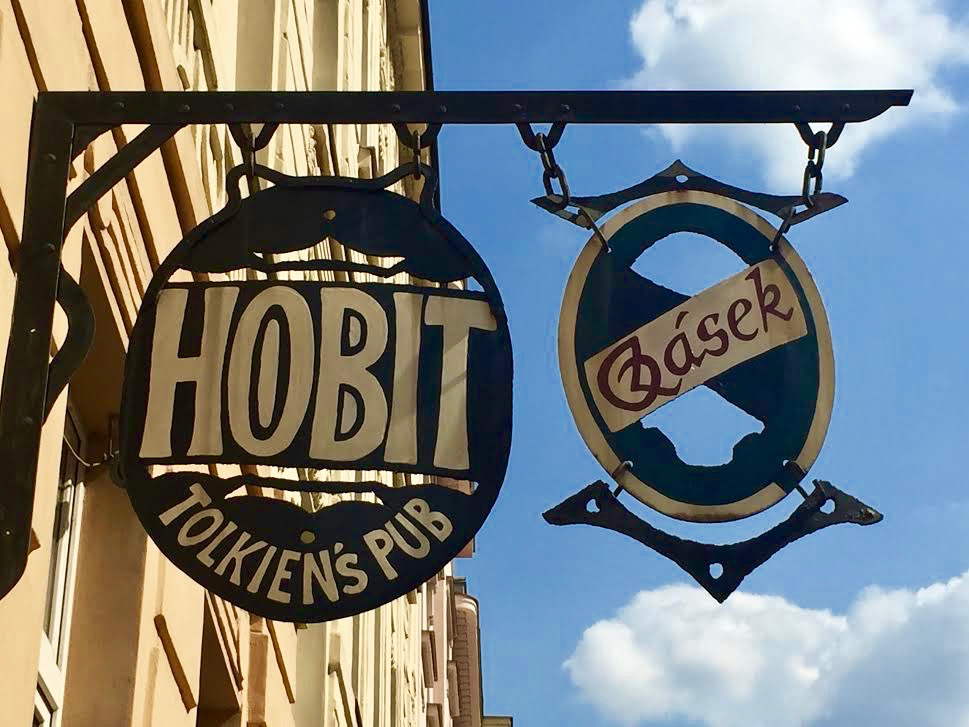 Hobit Tolkiens pub in Ostrava.