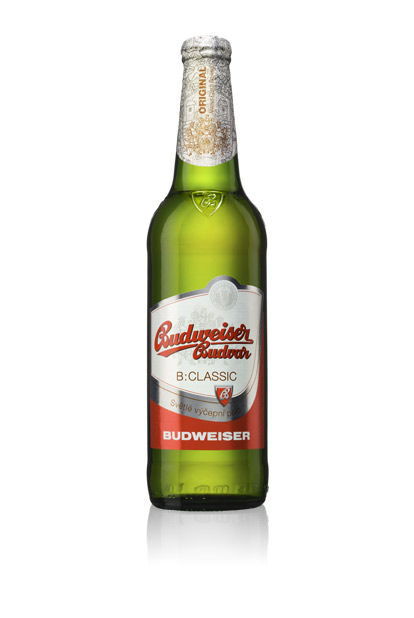 The original Budweiser beer.