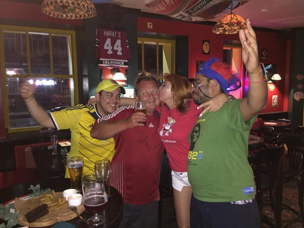 Late at night in a bar in Ulyanovsk :-)