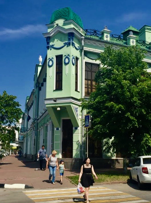 Ulyanovsk has a charming city center.