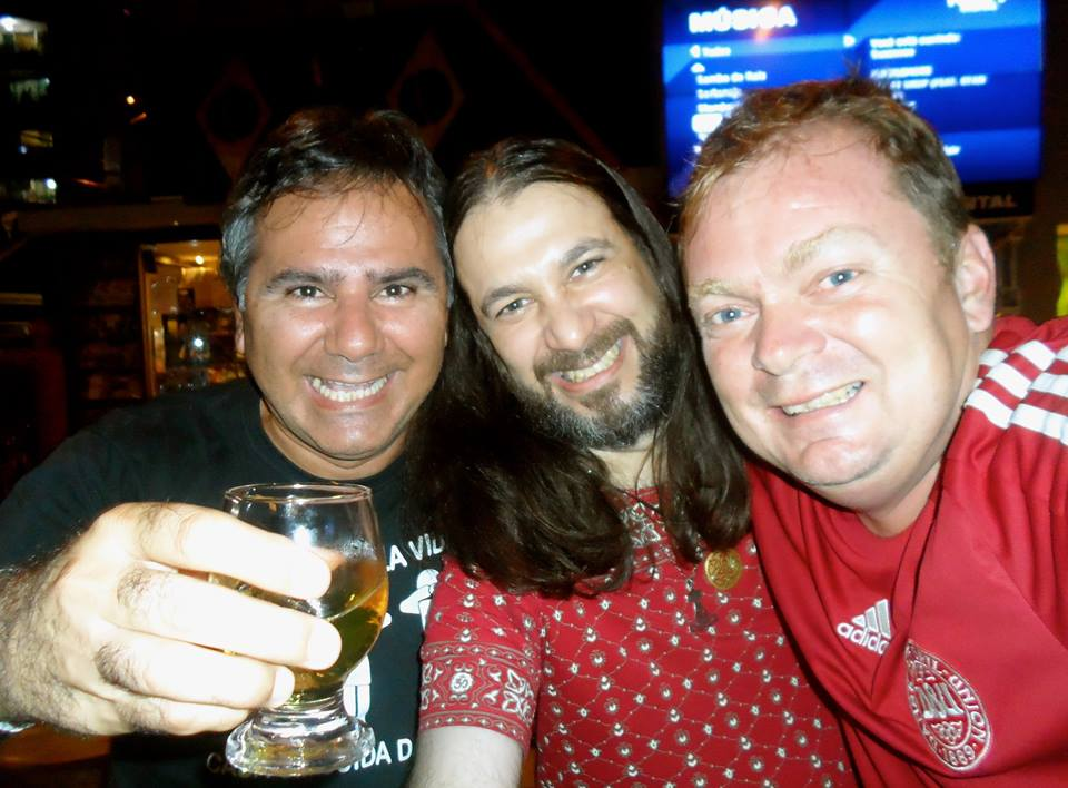 I have been friends with these two Brazilian guys for more than 20 years.