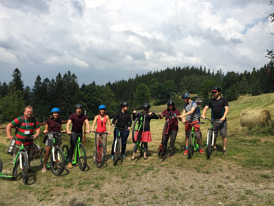 Cycling in the Czech Republic with fellow travel bloggers.