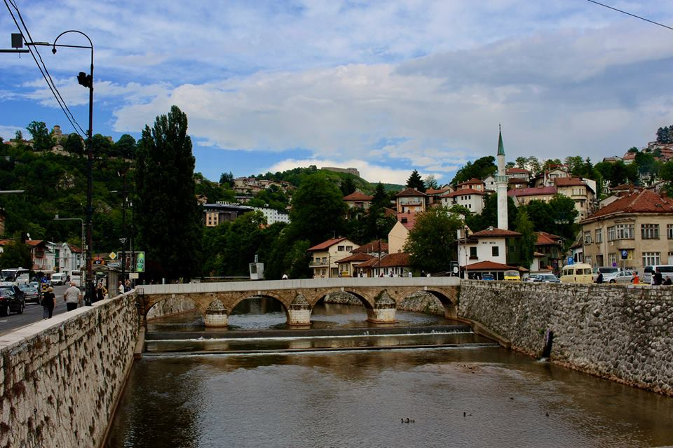 Visiting Sarajevo in may.