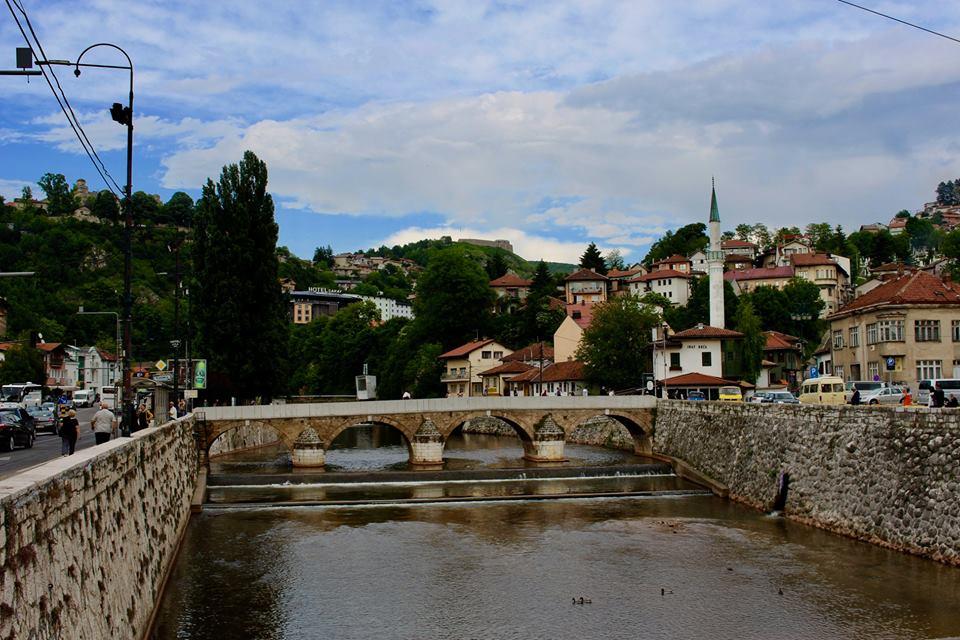 Visiting Sarajevo in may.