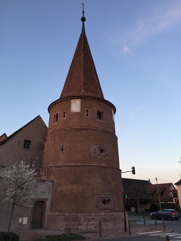 Ammerschwihr in Alsace.