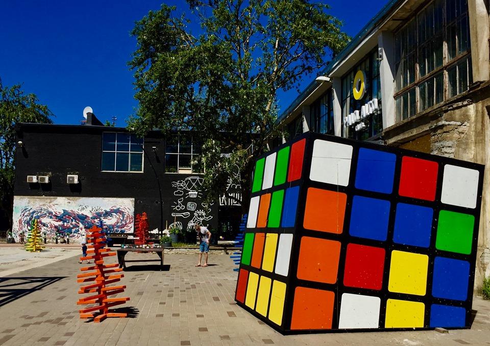 Rubik Cube in Tallinn.